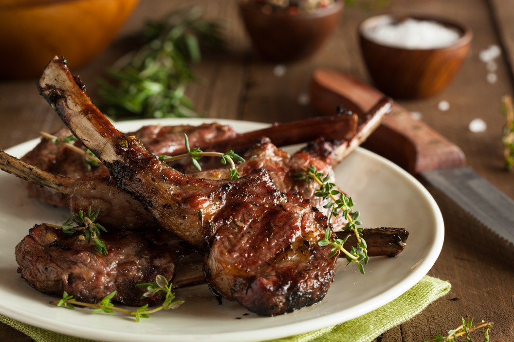 MARINATED LAMB CHOPS | Robert Irvine