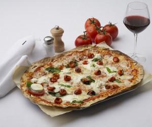 The pizza at Cafe Fiorello