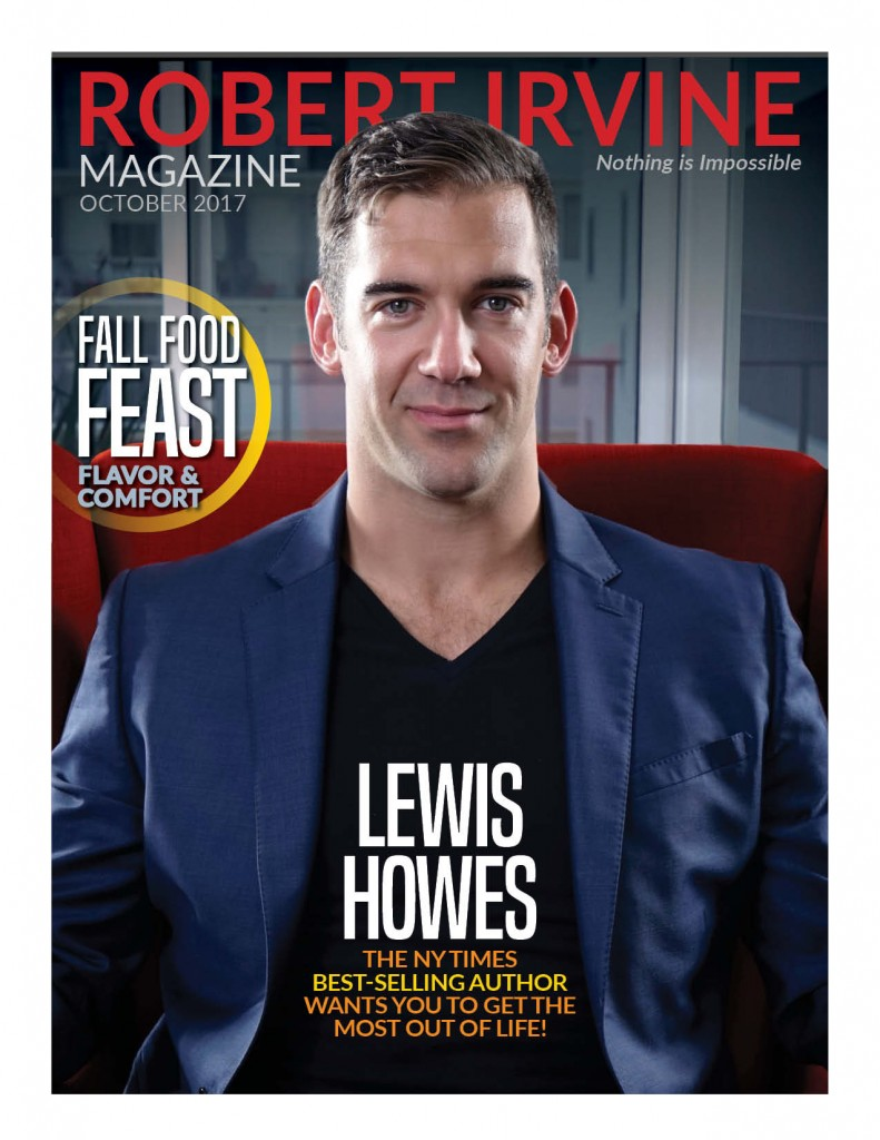 Lewis on the cover of our October 2017 edition.