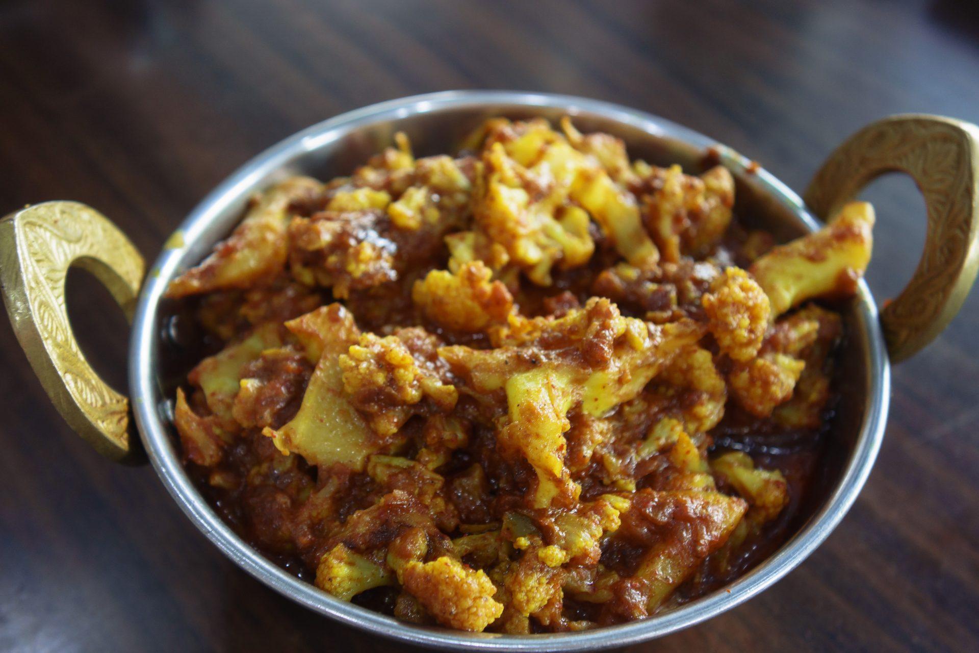 Curry Grilled Cauliflower
