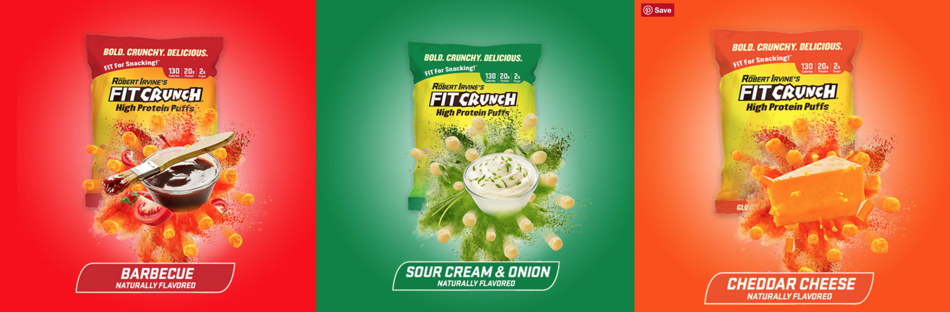 Not Your Typical Puff Piece: Robert Introduces New FITCRUNCH Protein Puffs, And The Way We Snack Will Never Be The Same - Robert Irvine