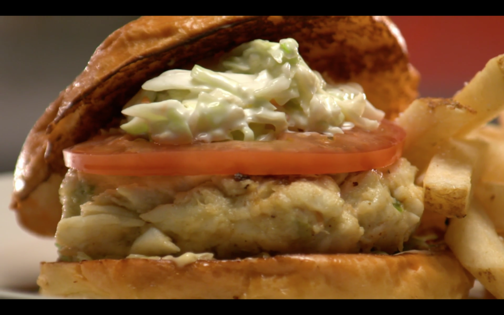 Crab Cake Sandwich – As seen on Restaurant: Impossible
