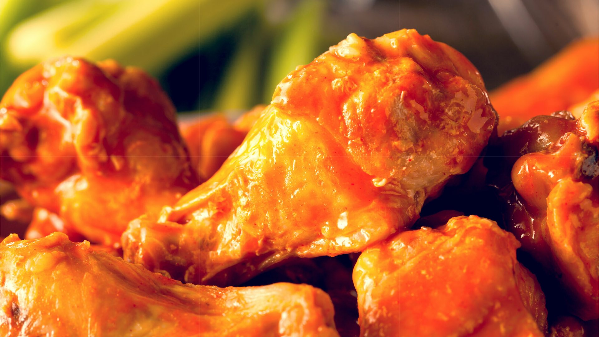 wings and meatballs