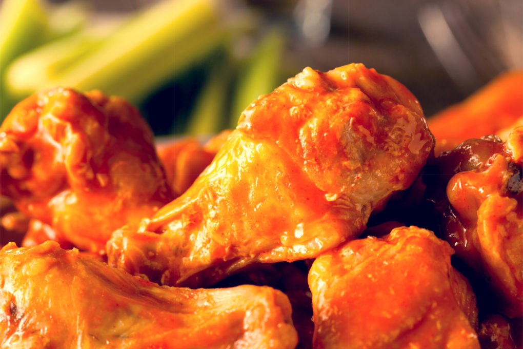 As Seen on Restaurant: Impossible – Buffalo-style Chicken Meatballs & Wings
