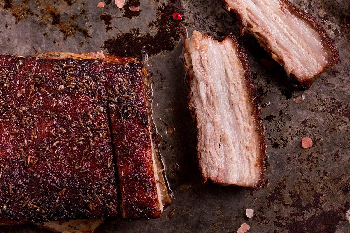 BBQ Crispy Pork Belly Sandwich – As Seen on Restaurant: Impossible